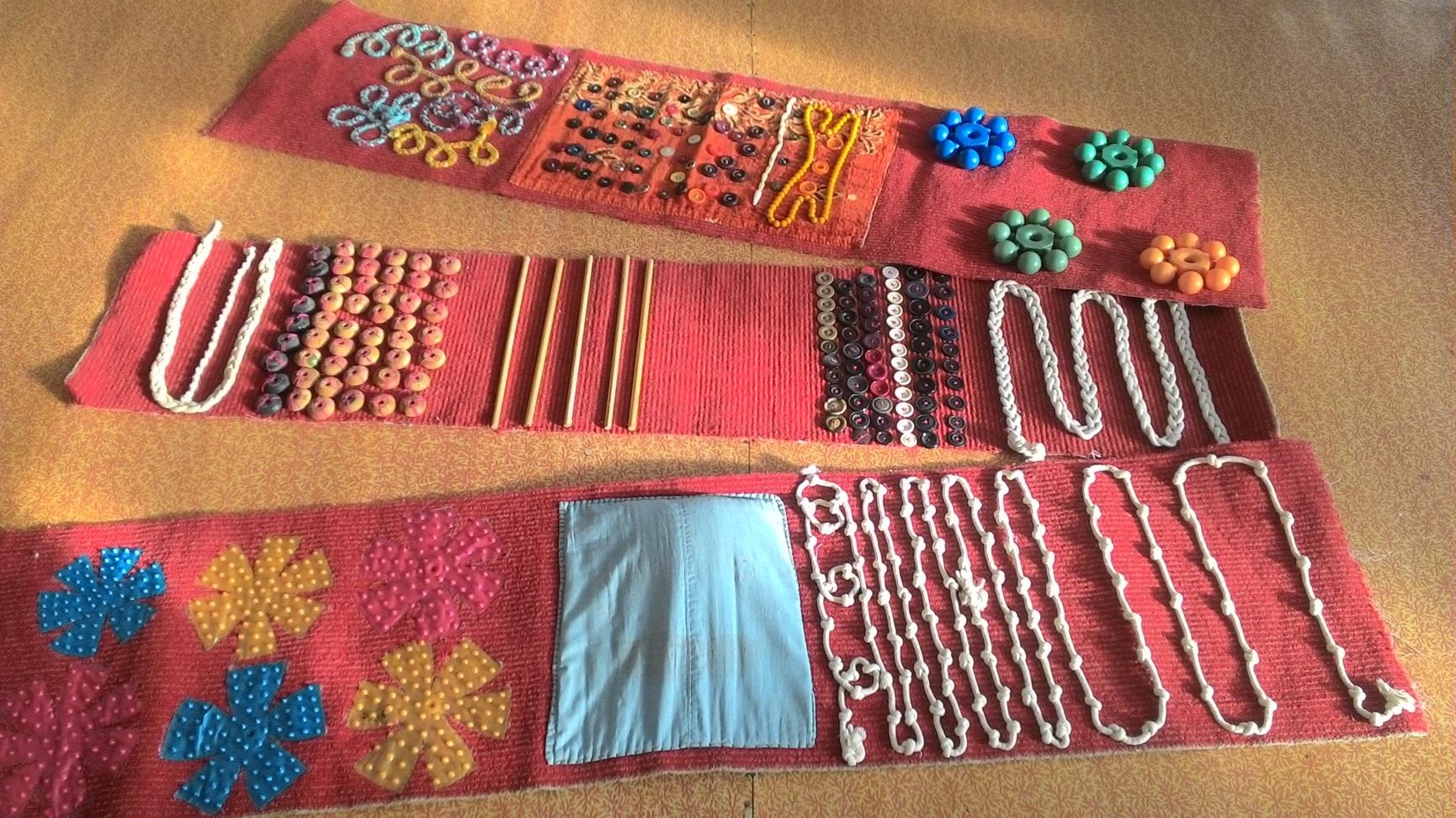 Сделать коврик в детский сад своими руками