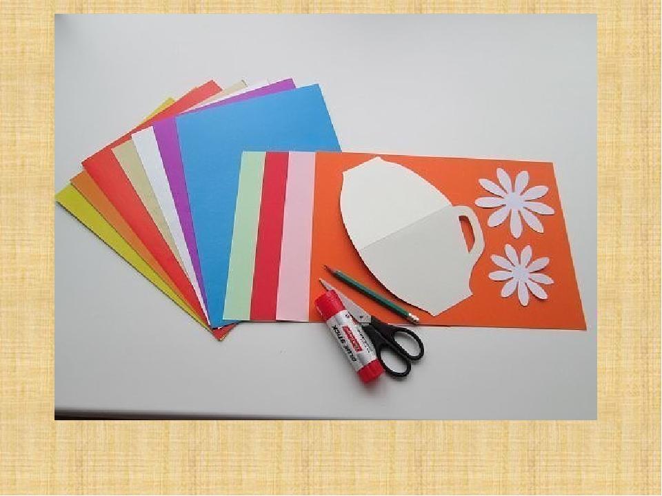 Образцы картона для открыток
