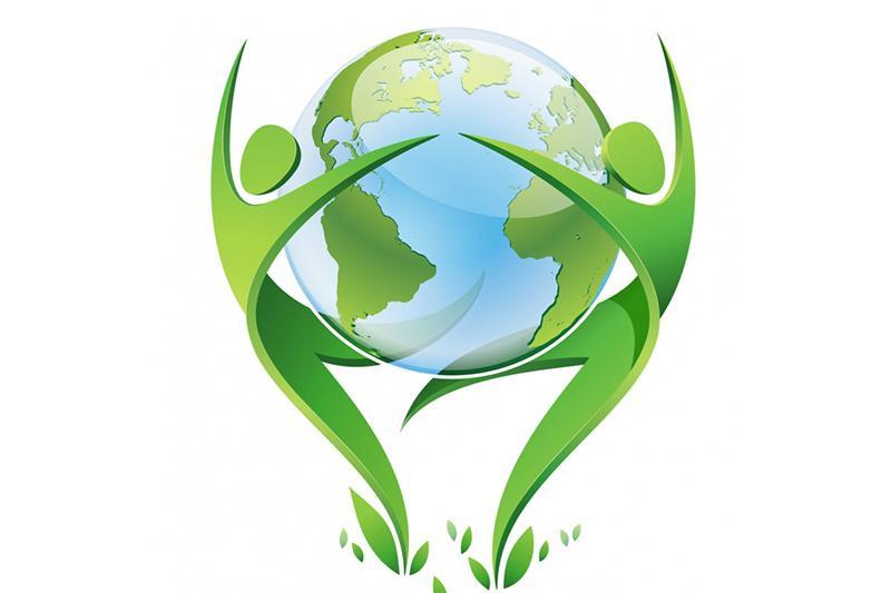 Днем, год экологии открытка