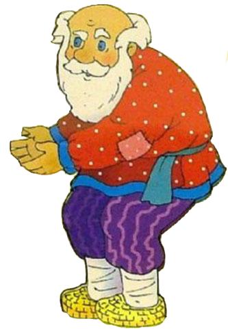 Репка картинка деда