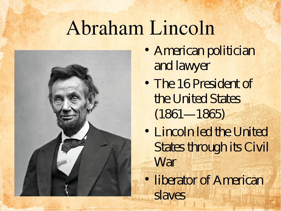 an introduction to the history of the powerful president abraham lincoln Abraham lincoln was the 16th president of the united states, and one of the most popular american presidents in history abraham lincoln genealogy abraham.