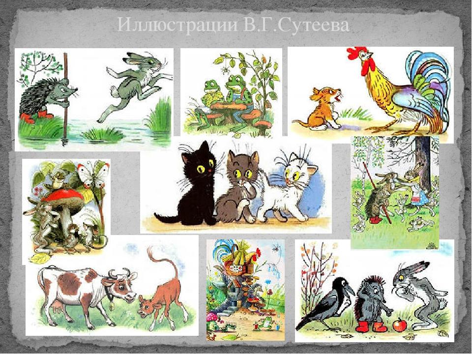Иллюстрации В.Г.Сутеева