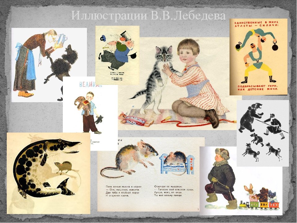 Иллюстрации В.В.Лебедева