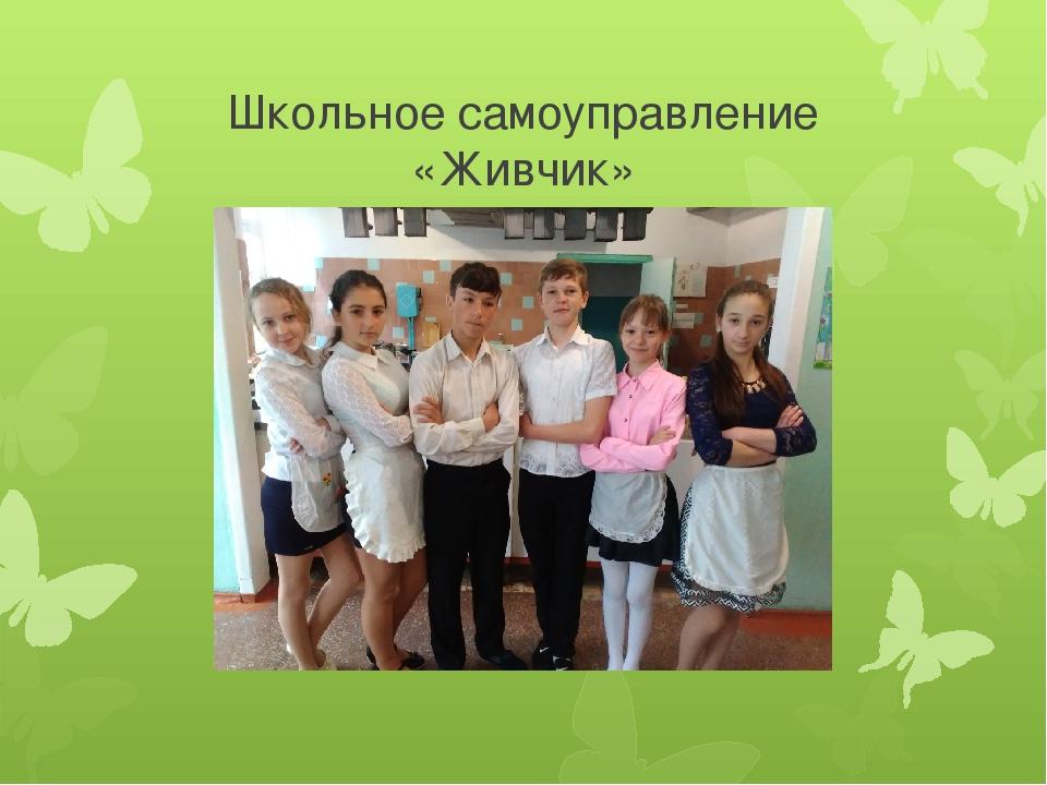 Школьное самоуправление «Живчик»