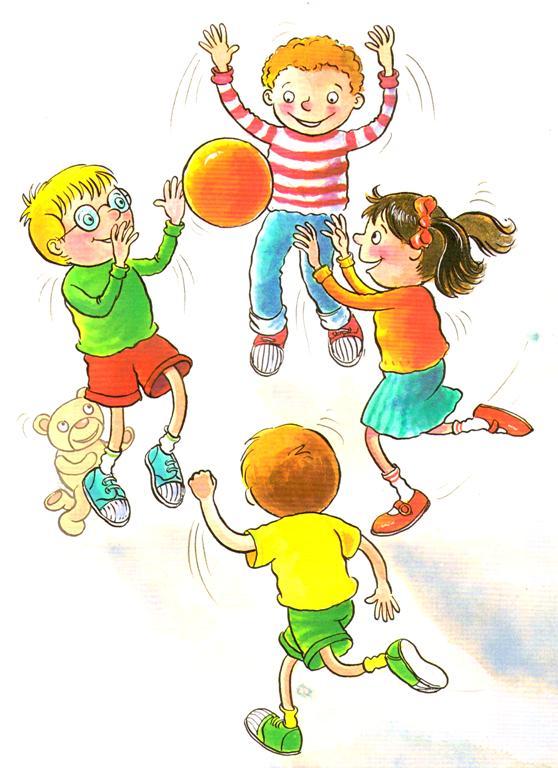 Вероники, картинка дети играют в подвижные игры