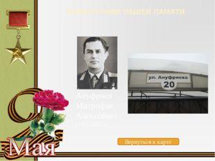 МАРШРУТАМИ НАШЕЙ ПАМЯТИ Басинский Владимир Лукьянович (1919-1991) Вернуться к