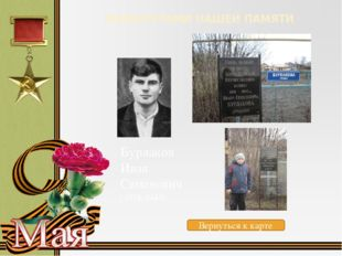 МАРШРУТАМИ НАШЕЙ ПАМЯТИ Водопья́новМихаи́л Васи́льевич (1899-1980) Вернуться