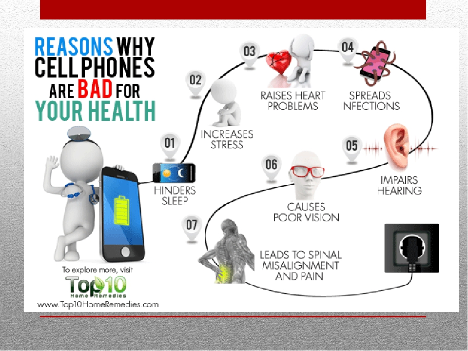 bad effects of technology on our health The constant connection to mobile phones, laptops, and tablets may cause short-term and long-term physical and mental health problems.