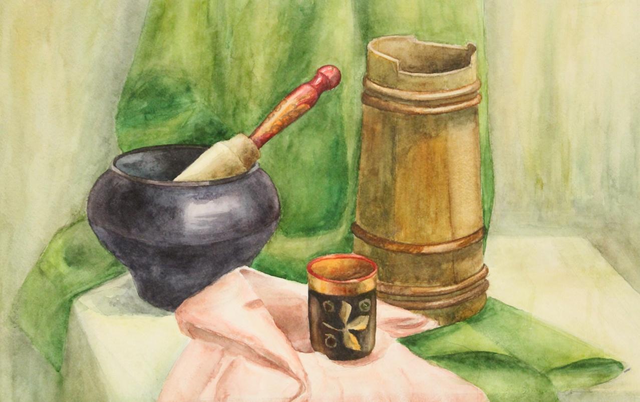 План-конспект изо урока по живописи натюрморт