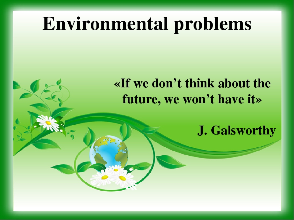 environment problems The 6 most pressing environmental issues—and what you can do to help solve them 04/01/2018 under air quality , conservation , environment , environmental destruction , features.