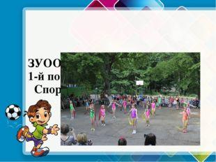 ЗУОО «Соловьиная роща» 1-й поток ЛЕТО – 2017г. Спортивное направление