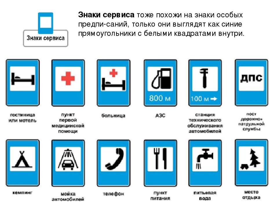 простота картинки информационных знаков и их название фото анализ