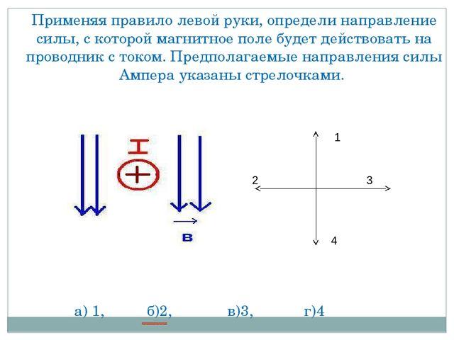 Задачи с решением на правило правой руки решить задачи по моделированию