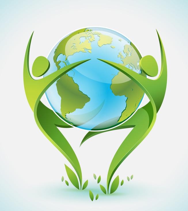 Эмблема экологии своими руками 47