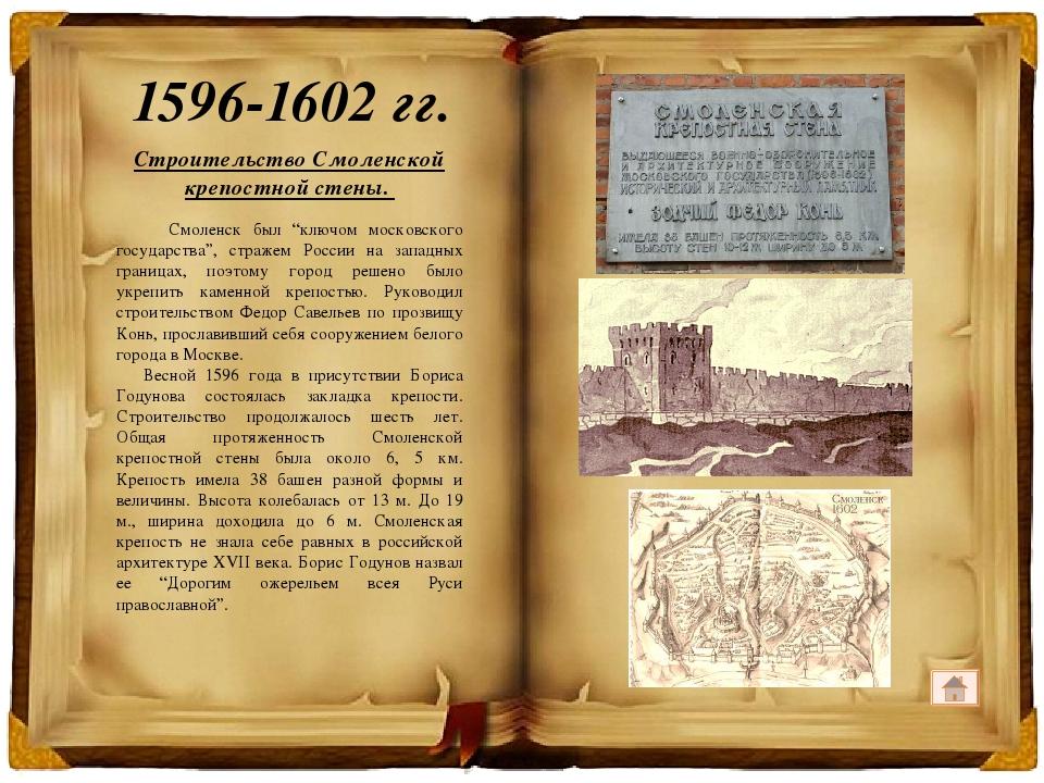 Оборона Смоленска от войск Жигимонта (Сигизмунда) III. Присоединение к Речи П...