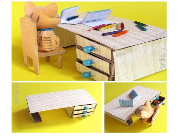 презентация поделки из спичечных коробков животные