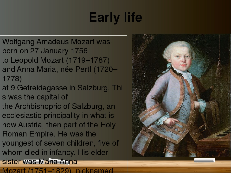 the life of wolfgang amadeus mozart This feature is not available right now please try again later.