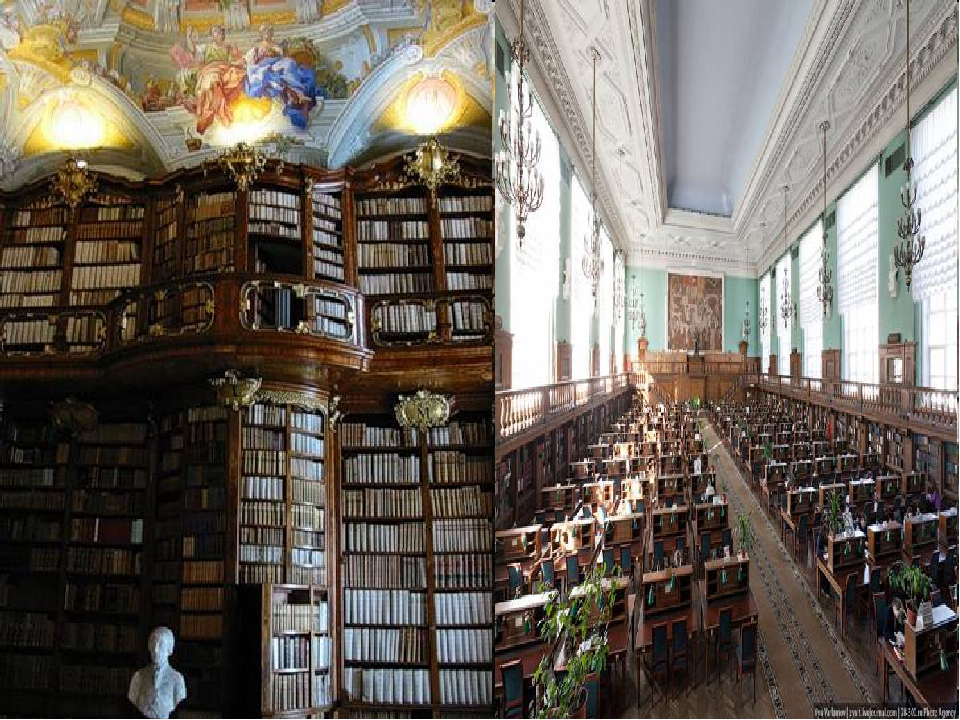 Russian State Library It is the largest library in Europe. The library is fou...