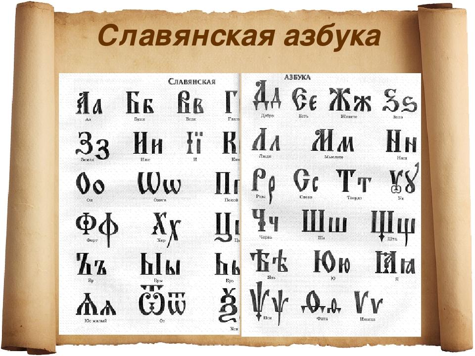хочу заниматься славянский алфавит фото то, что жизни
