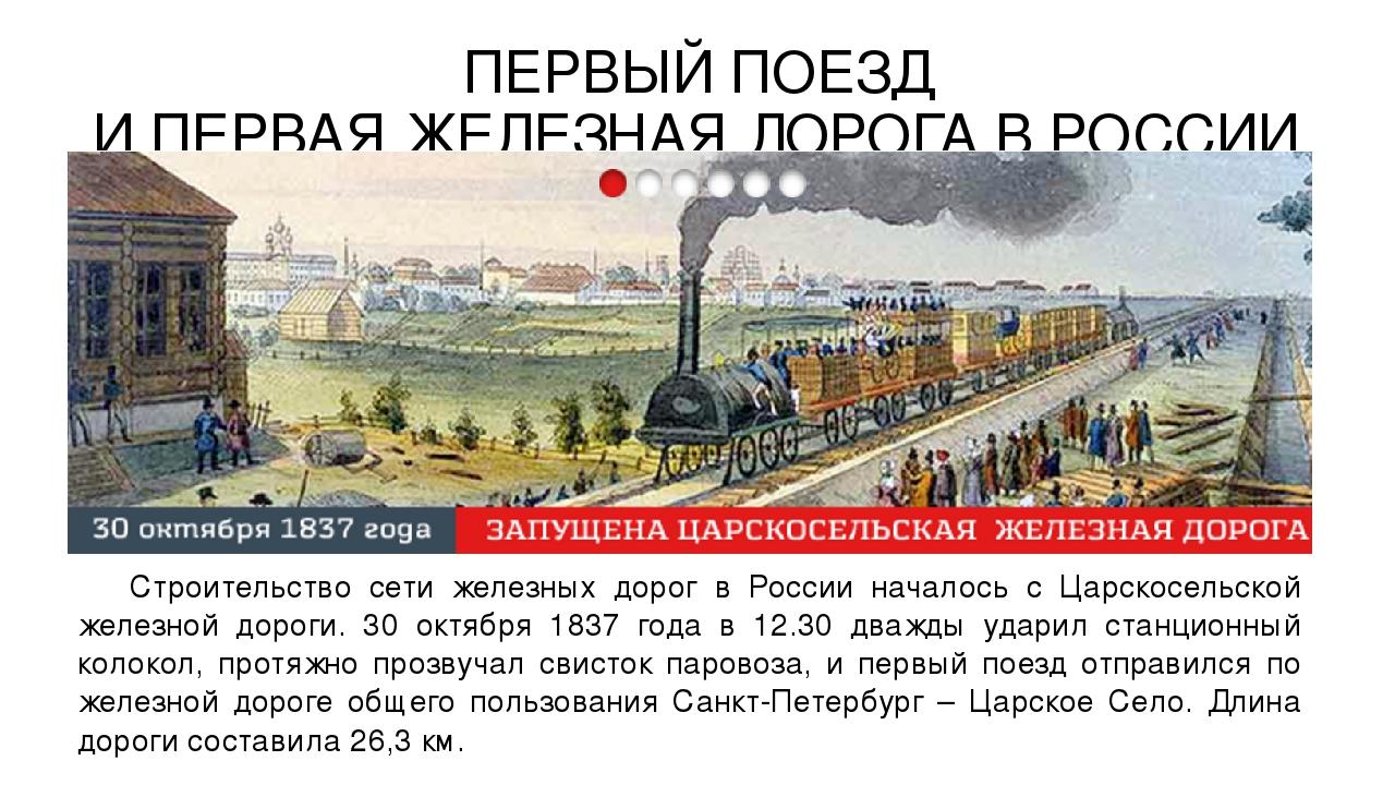 развитие железных дорог в россии картинки