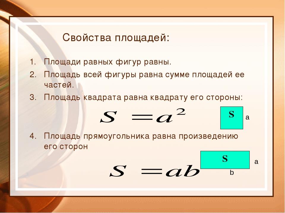 Конспект урока по математике в 5 классе по теме: площадь площадь прямоугольника учебник виленкин
