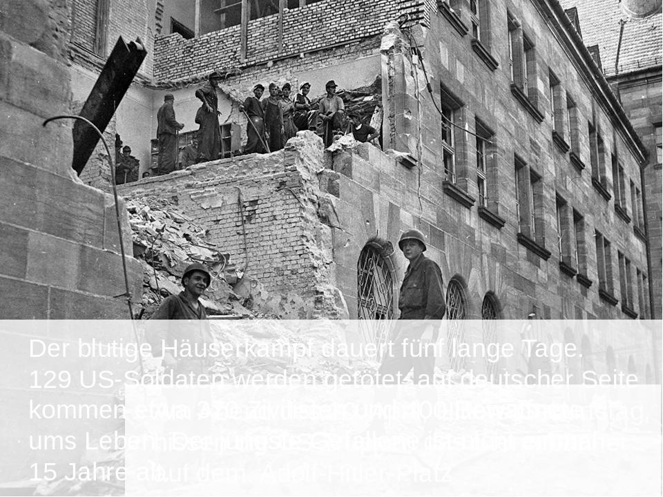 Der blutige Häuserkampf dauert fünf lange Tage. 129 US-Soldaten werden getöt...