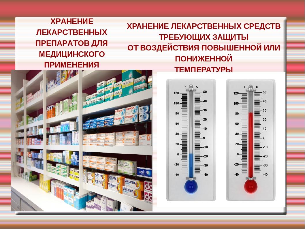 Реферат хранение лекарственных средств 6159