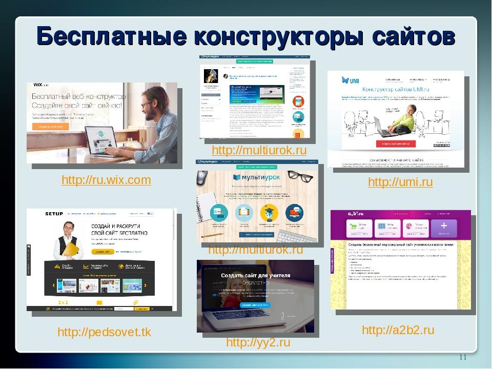 Онлайн конструктор создание сайтов создание сайтов государственных органов