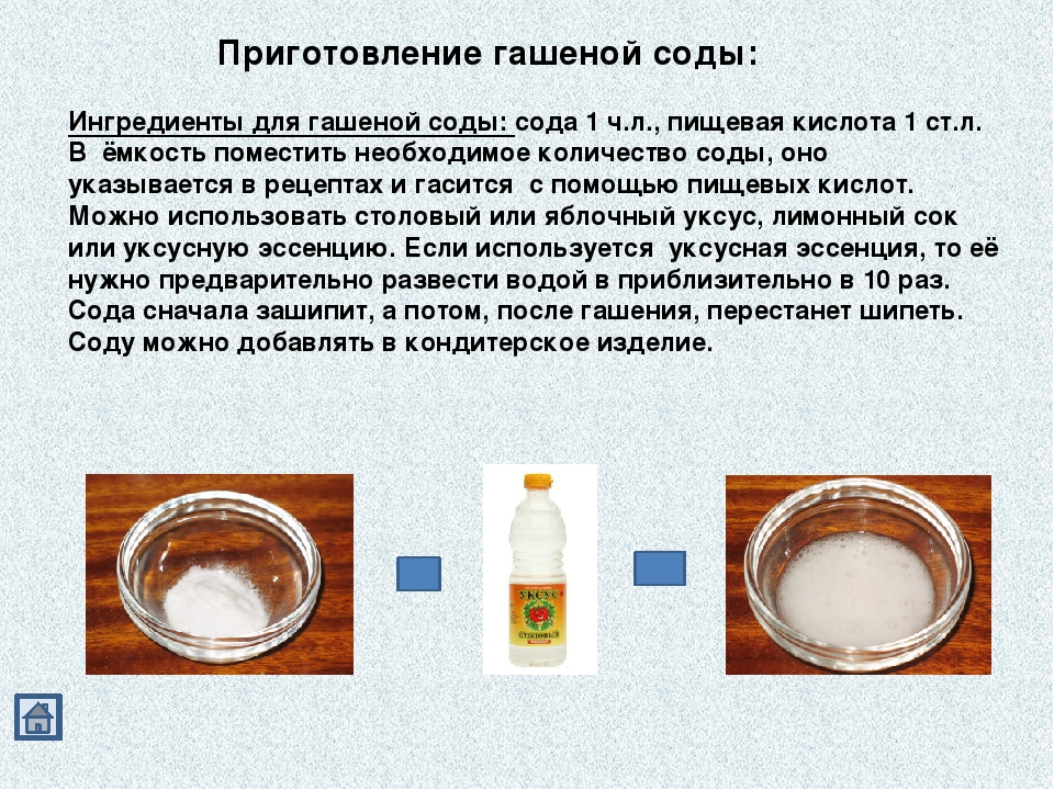 Похудение вода с содой