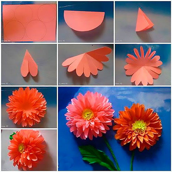 """Программа краткосрочного курса """"Цветы из бумаги"""""""
