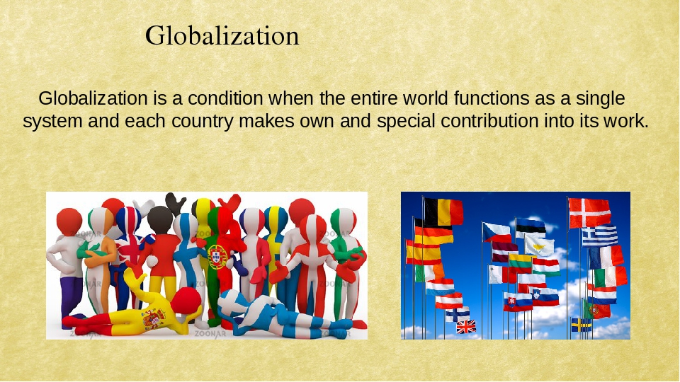 globalization is not a substitute for The world has become increasingly interconnected and culturally homogeneous but make no mistake, globalization is not a trend -- here today, gone tomorrow the lexus and the olive tree points out that globalization is the integration of capital, technology and information across national borders, in a way.