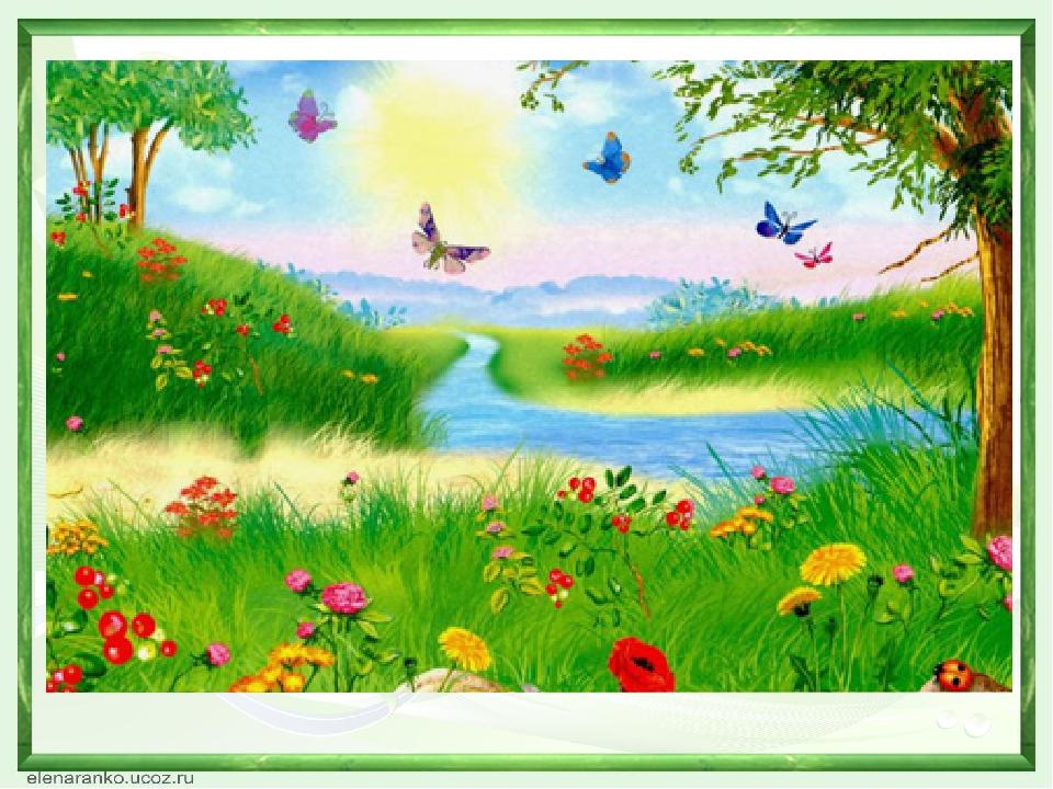 Картинки для детского сада на тему лето