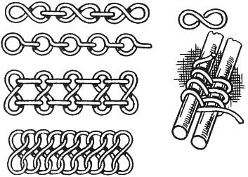 Плетение цепочки из проволоки 84