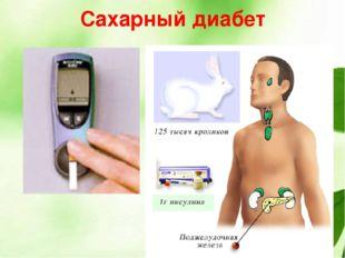 Эндокринная система сахарный диабет лечение