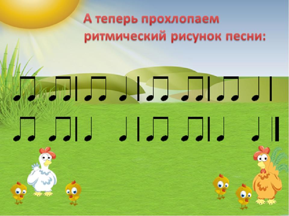Картинки на ритм детям