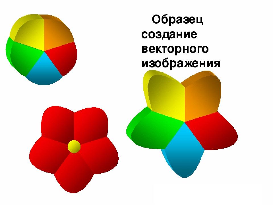 Образец создание векторного изображения