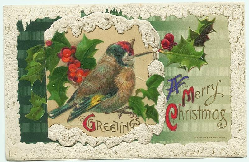 Открытки с рождеством в англии, открытки добрым