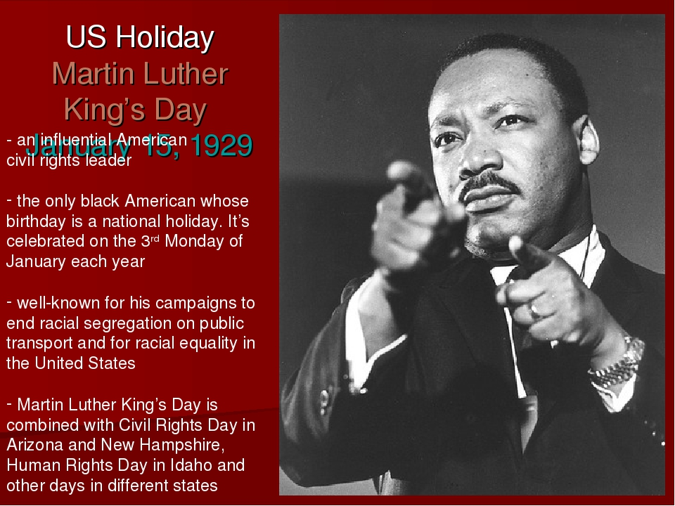 an analysis of the profound meaning to martin luther king day Martin luther king, jr on loving your enemies is to discover the meaning of this command and seek the radical king by dr martin luther.