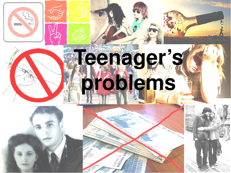 teenager problems