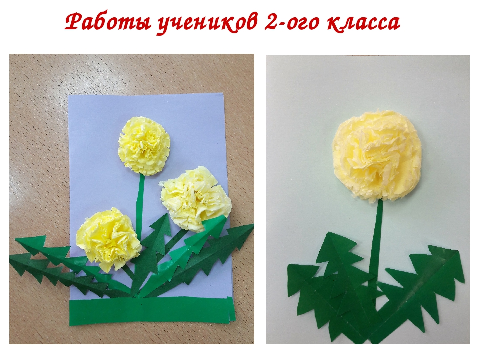 Открытки из цветов из салфеток, лет