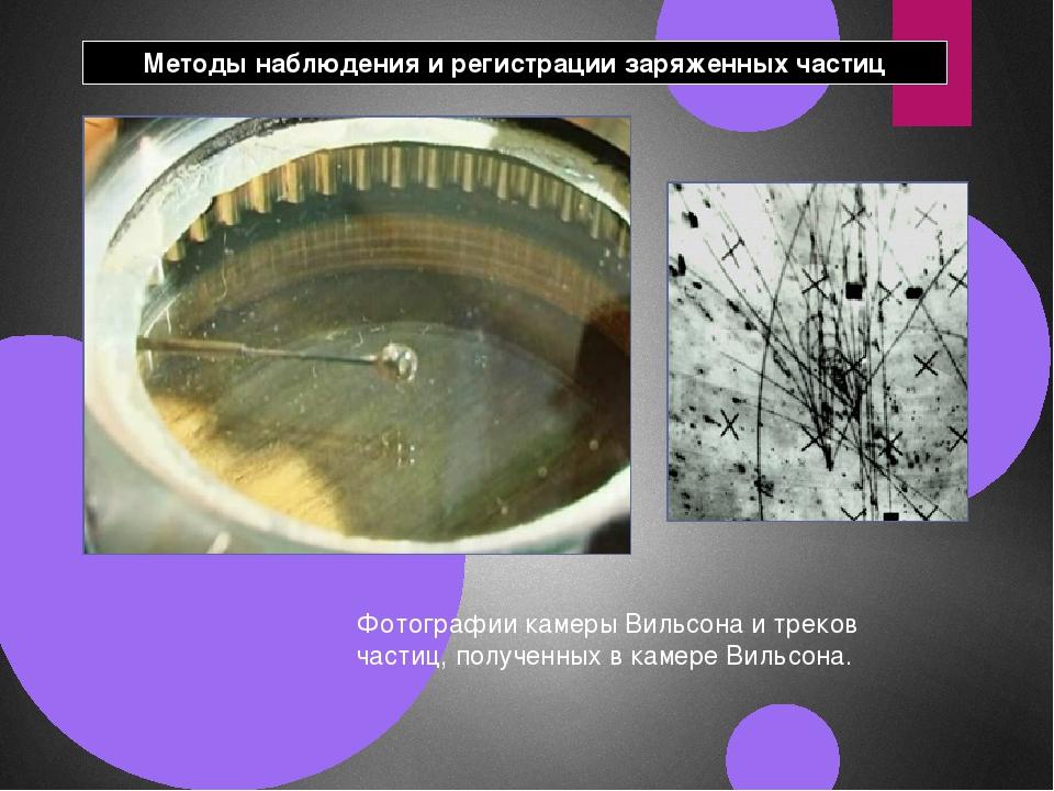 Фото в камере вильсона