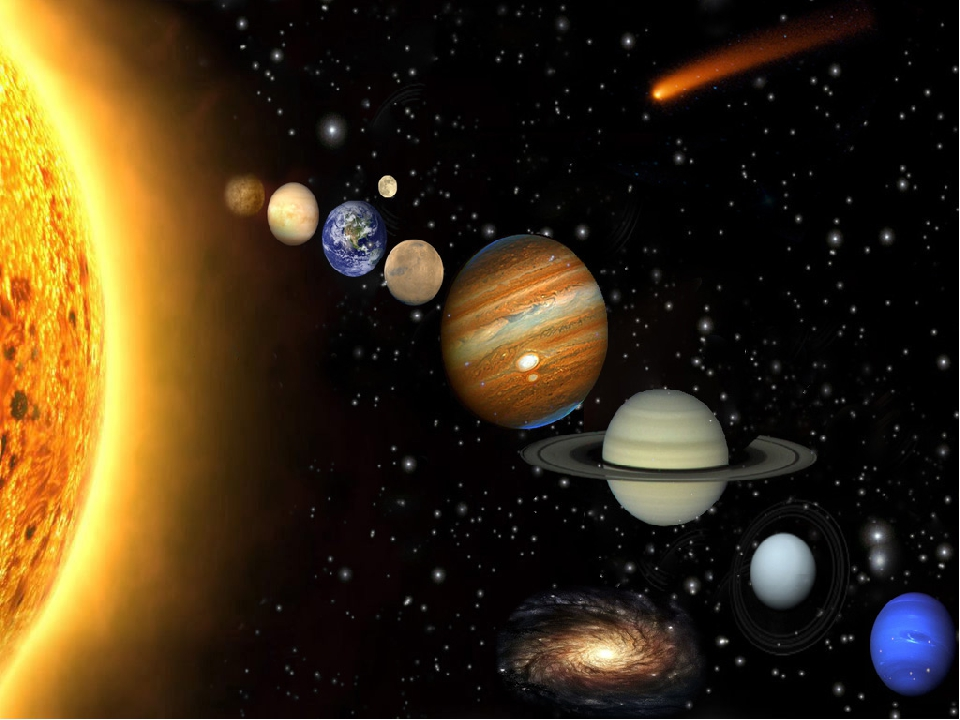 фото планеты всей солнечной системы делаете все