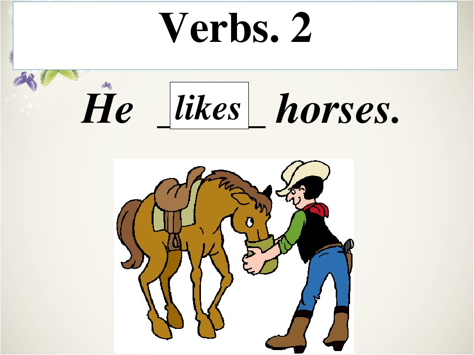 Verbs. 5 They _____. are drawing