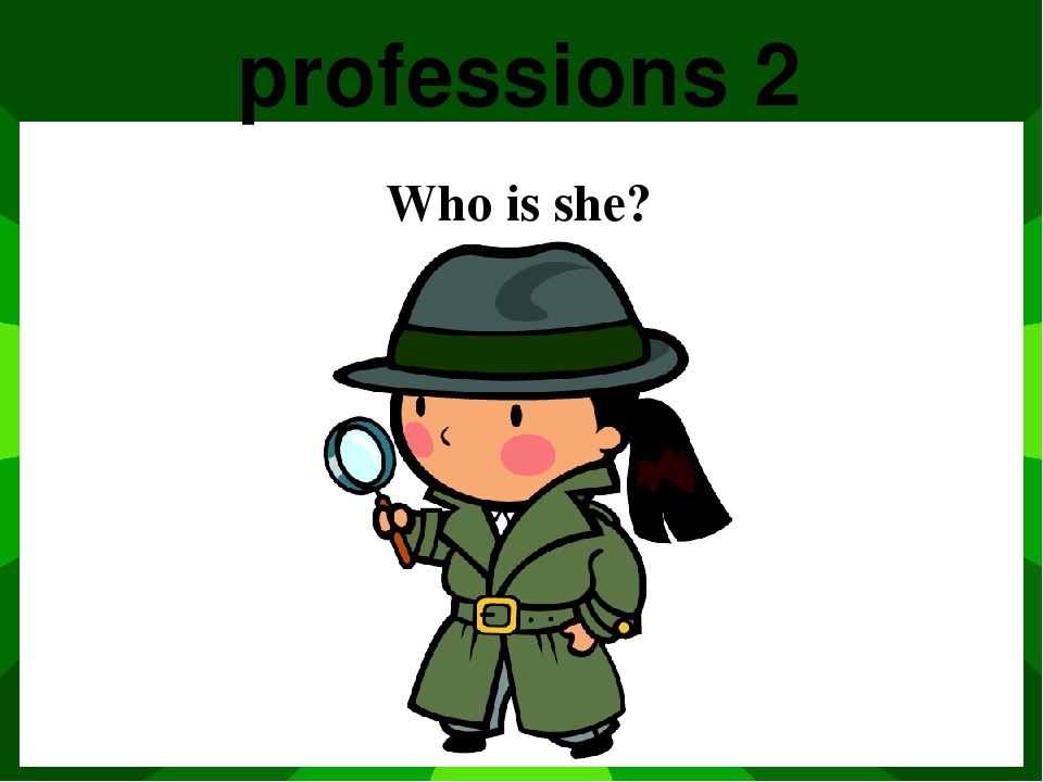 Profession 5 Who is he?