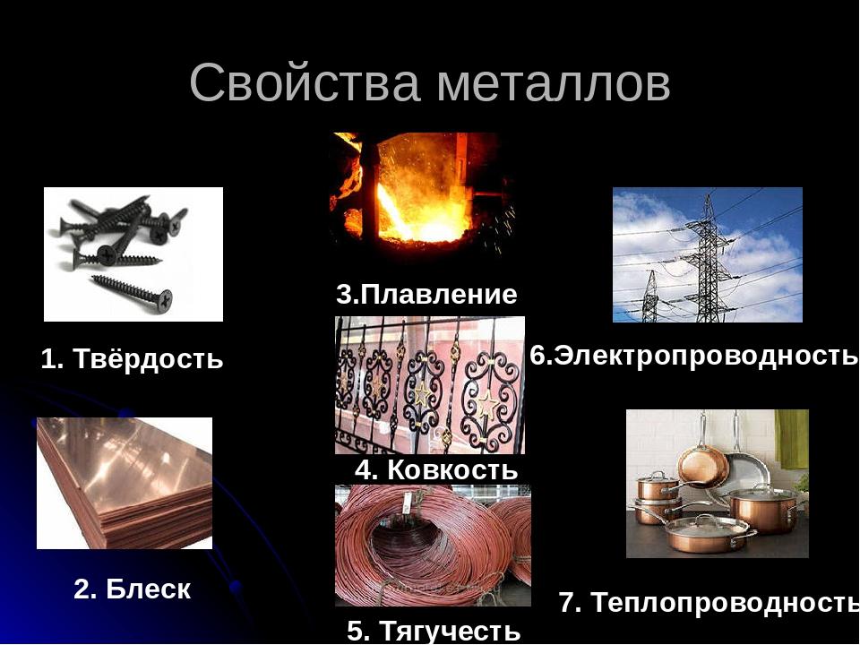 Реферат Свойства металлов ru Свойства металлов реферат 4 класс