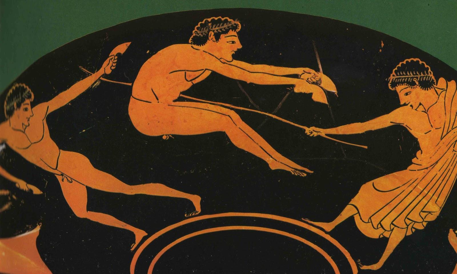 греческий атлет картинка опережу события опишу