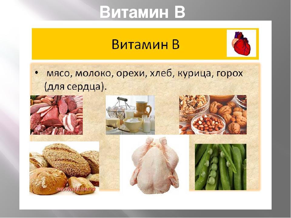 Витамины в курином мясе