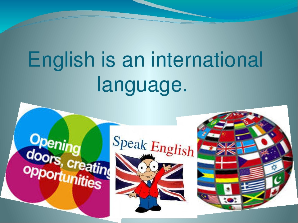 english as international langauage English language is an example for the importance of a language because it is the international language and has become the most important language to people in many parts of the world it is most widely used in communicating around the world, also it is spoken as the first language in many countries.