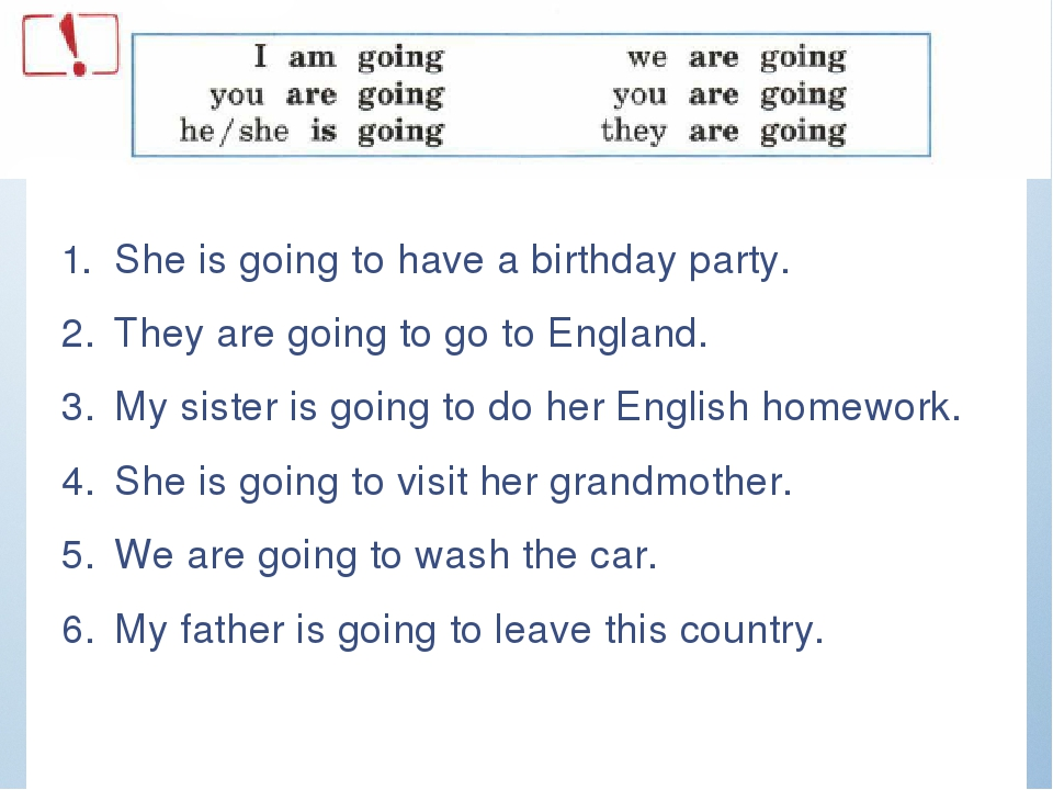 She is going to have a birthday party. They are going to go to England. My s...