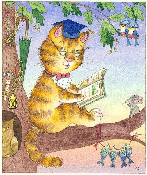 Сценарий в гостях у кота ученого